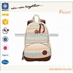 Canvas teen backpack