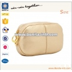 Large-capacity PU cosmetic bag