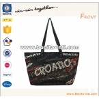 Printed tote bag 420D shopping