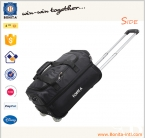 Newest Expand Nylon Trolley Suitcase
