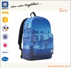 Fashion polyester student school bag
