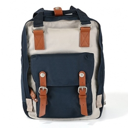 Laptop Backpack College Backpack Doughnut