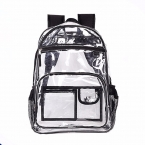 2018New Design Clear backpack Waterproof